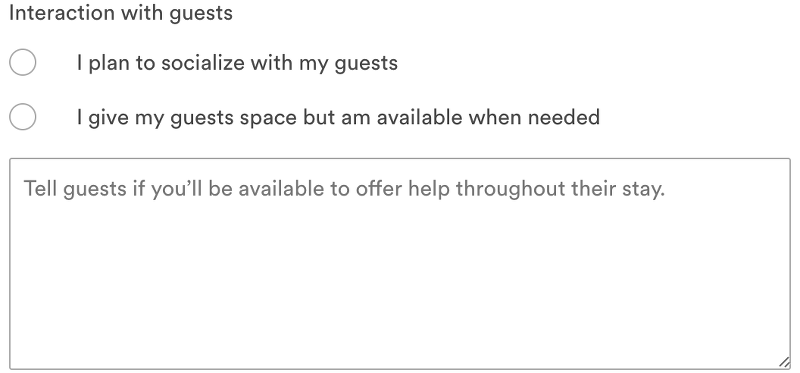 airbnb guest interaction tips