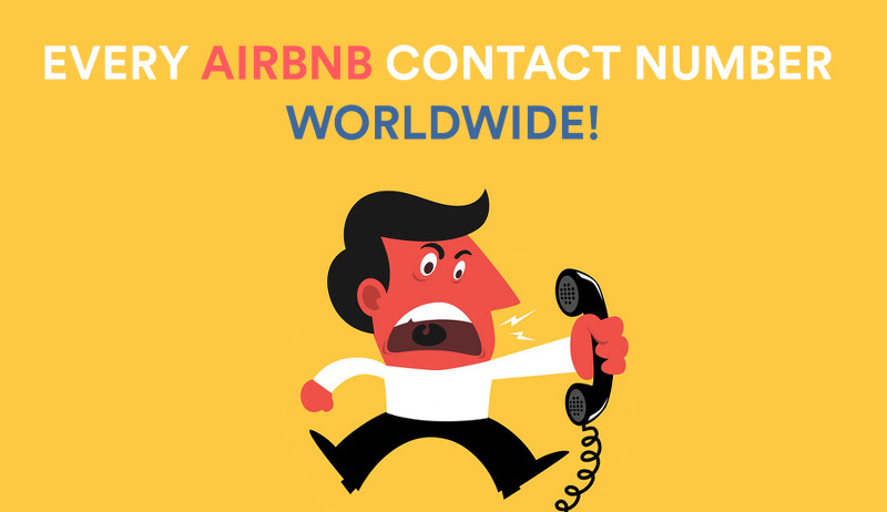 Airbnb Contact Numbers