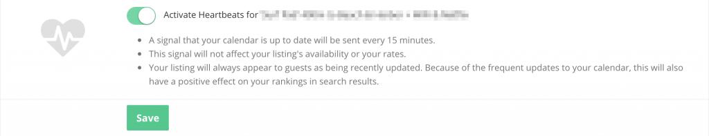 Smartbnb Heartbeats calendar updater