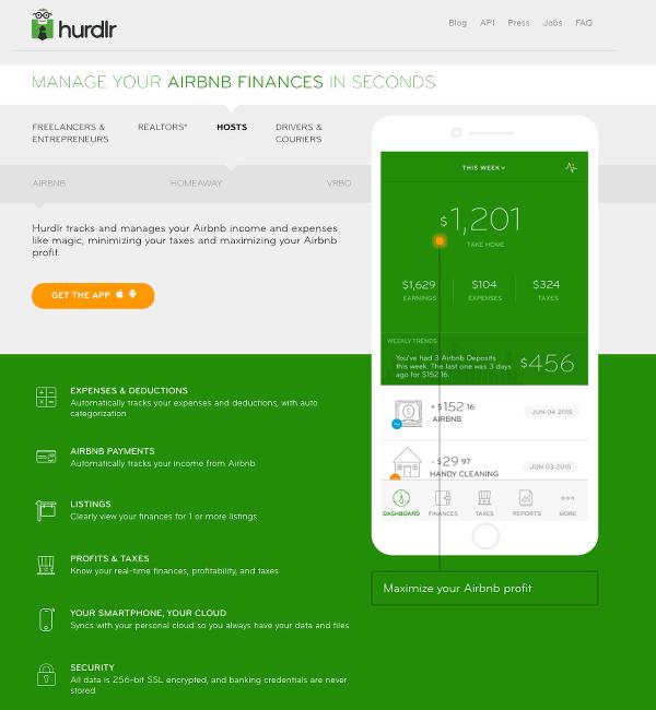 Hurdlr App for Airbnb Ta