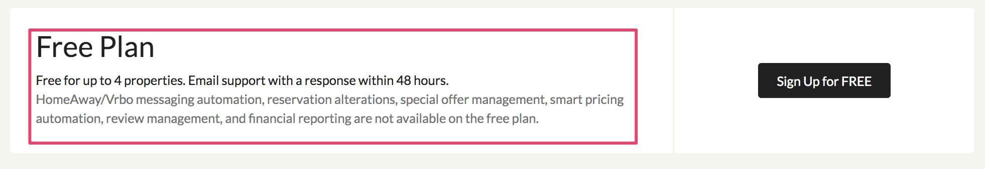 IGMS free plan