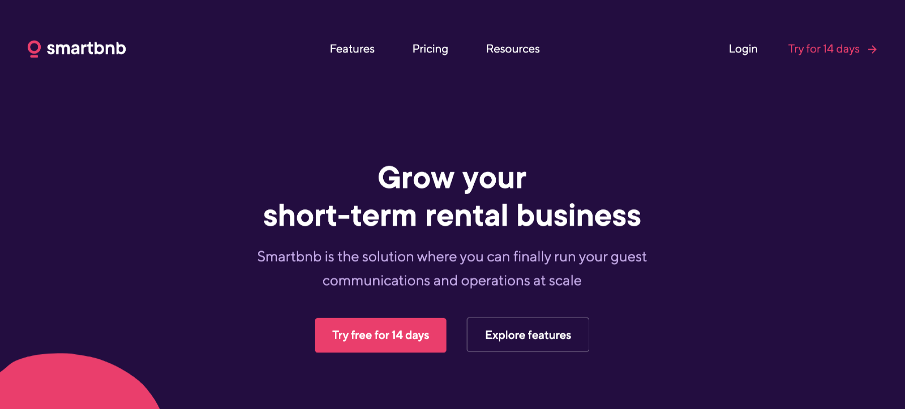 Smartbnb airbnb management software