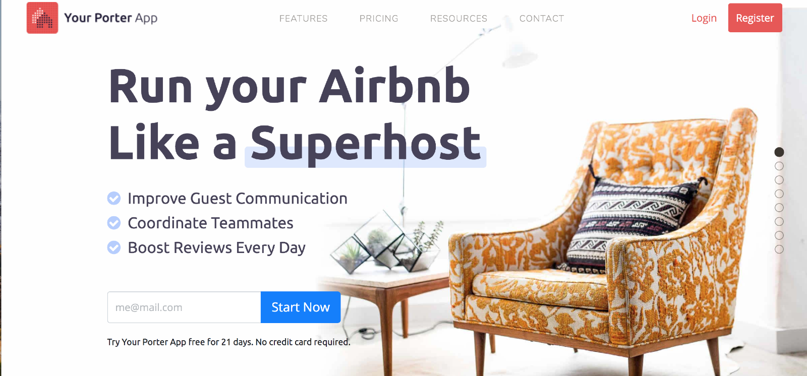 your porter airbnb hosting software