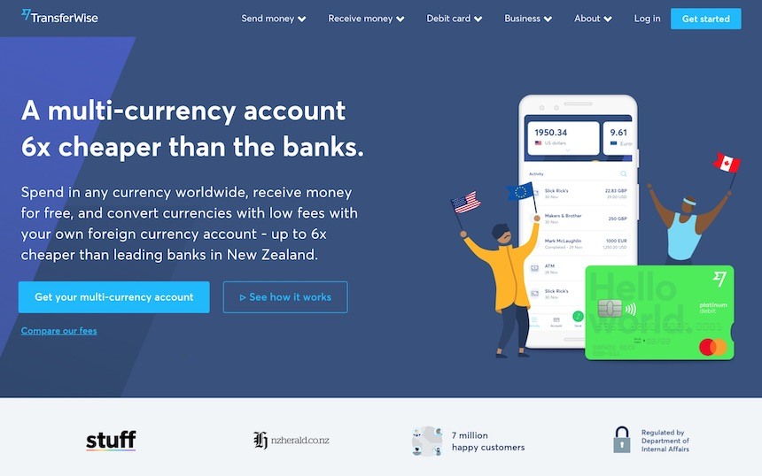 Transferwise bank account