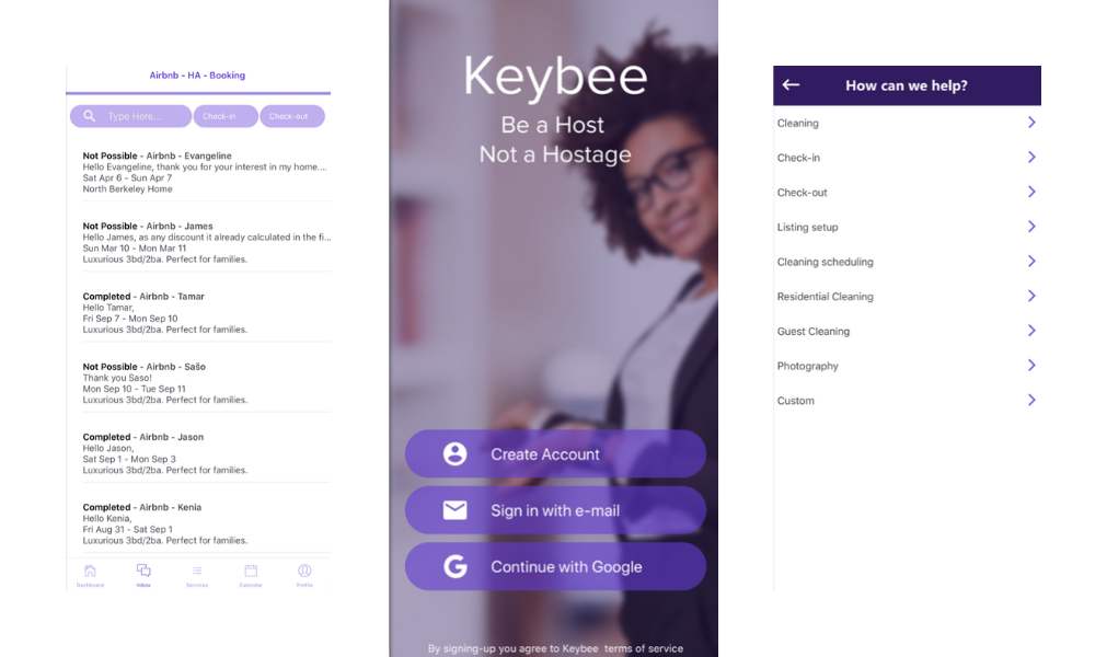 Keybee app